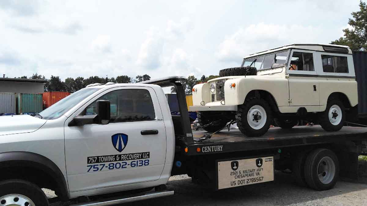 Military Towing Virginia Beach